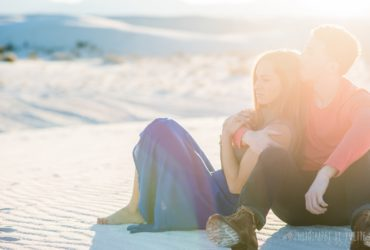 Organ Mountain and White Sands Engagement Session
